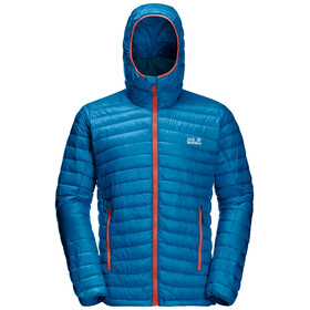 Jack Wolfskin Mountain Down Jacket Men, blue pacific